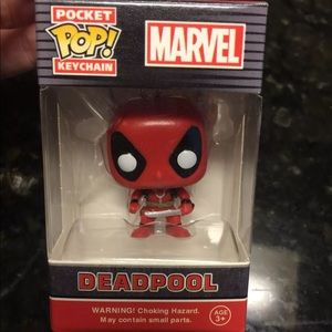 Other - Deadpool marvel POP keychain
